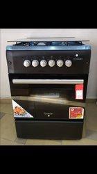 Cuisinière automatique à 4 feux et 2 fours