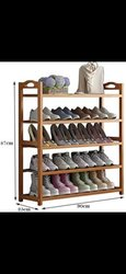range chaussures en bois