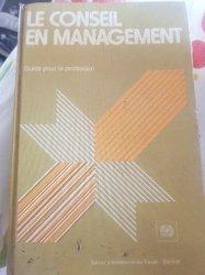 Ouvrage - Le Conseil en Management