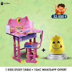 Table d'étude enfants