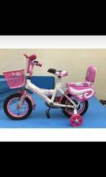 Vélo enfant rose