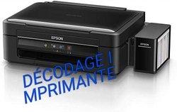 Décodage imprimante Epson