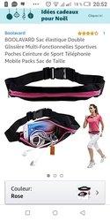 Mini sac de sport élastique