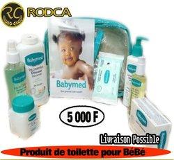 Produit de toilette pour bébé