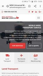 Transport et logistique du fret divers