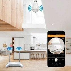Caméra ampoule  surveillance