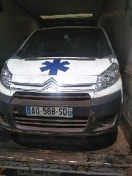 Citroen Jumpy Ambulance 2012