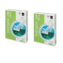 Rame de papier format A4 - inacopia - blanc - 02 pièces