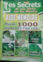 Livre de plantes
