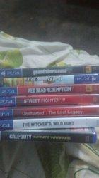CD jeux vidéo PS4
