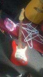 Guitare basse et solo + amplificateur