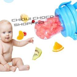 Dentition mamelon de fruits pour bébé