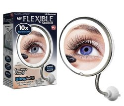 Miroir de maquillage flexible