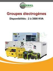 Groupes électrogènes