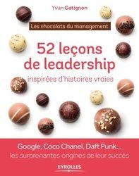 Livre : 52 leçons de leadership,inspirées d'histoires vraies