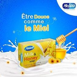 Melano lait et miel savon