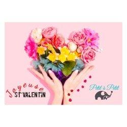L'équipe Petit à Petit vous souhaite une Joyeuse Saint Valentin