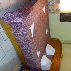 Draps et rideaux en pagne
