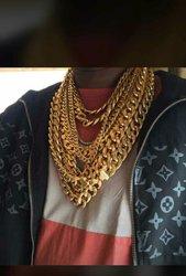 Chaîne d'or pour homme