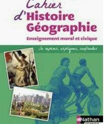 Cours en histoire et géographie