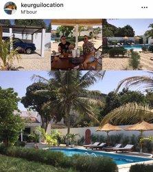 Location Maison de vacances- 3 Pièces - Mbour