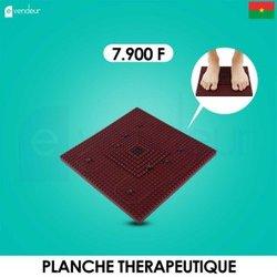 Planche thérapeutique