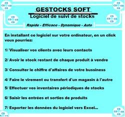 Logiciel de suivi de stocks