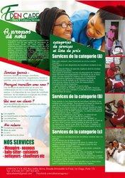 Agence de nounous et ménagères / Douala