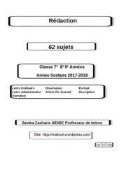 Rédaction version numérique