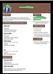 Création CV