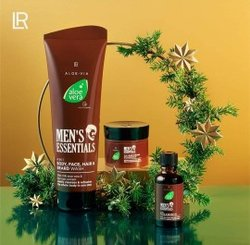 Set aloe vera men's essentiel