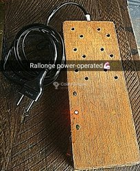 Rallonge power-operated