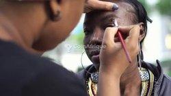Service makeup onglerie coiffure à  domicile