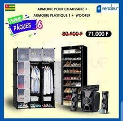 Pack armoire plastique