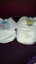Couches culottes bébé