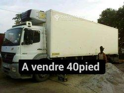 Camion frigorifique 40 pieds