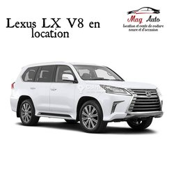 Location Lexus lx 570 vx v8