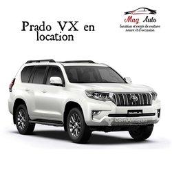 Location Prado VX - TX