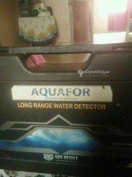 Station de recherches d'eau pour forage
