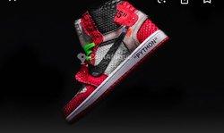 Chaussures Jordan 1 python
