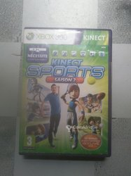 CD Xbox 360 Kinect sports