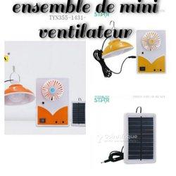 Mini ventilateur à panneau