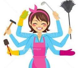 Prestation de service - nounou - ménagère - lavandière