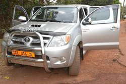 Location Toyota Hilux