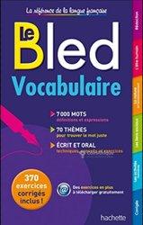 Livre - Le Bled vocabulaire