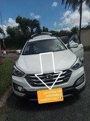 Location Hyundai santafe année 2015