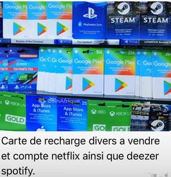 Carte recharge & compte