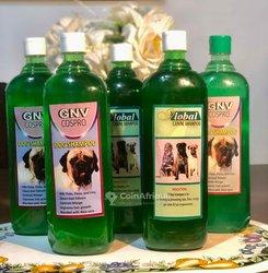 Shampooing de bain pour chien