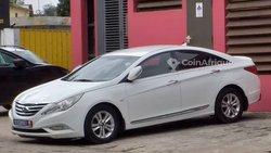 Location Hyundai Sonata blanche