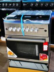Cuisinière inoxydable à rôtisseur automatique